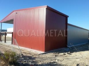 Bâtiment industriel structure métallique