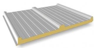 Panneaux sandwich pour toiture