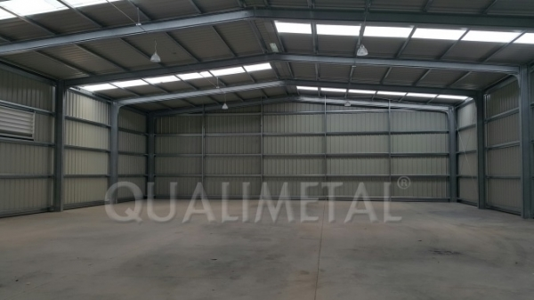 Construction hangars agricoles
